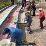 zoe mosaics volunteers