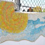 Sunland mosaic detail